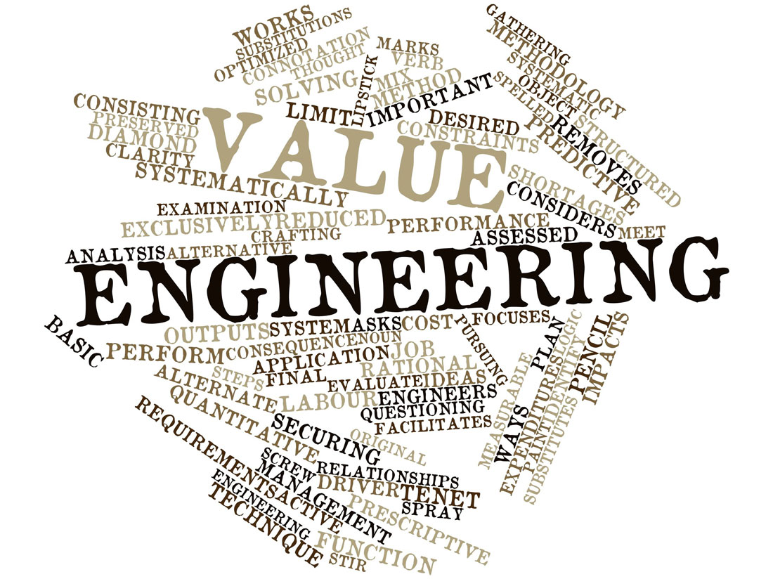 the works value engineering' scrambled together